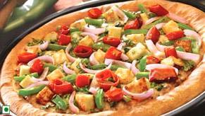 Kadai+Paneer+Pizza