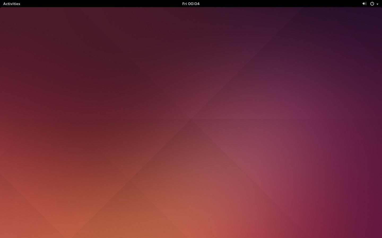 GNOME HomeScreen