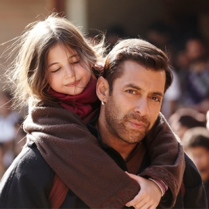 Salman with Harshali